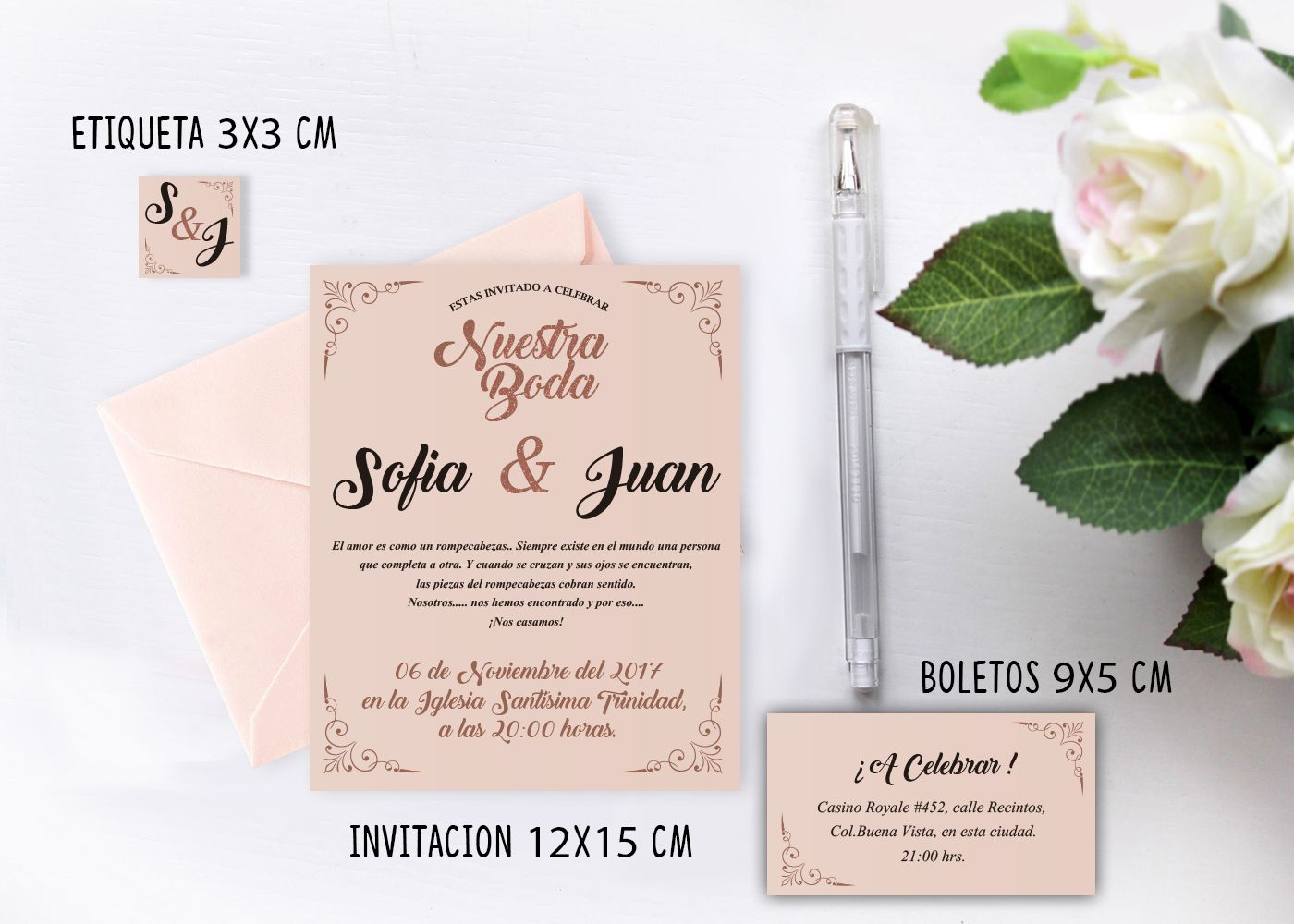 Printable wedding invitation / Invitacion boda imprimible.  #wedding #invitation #invitacion #boda #imprimible #printable