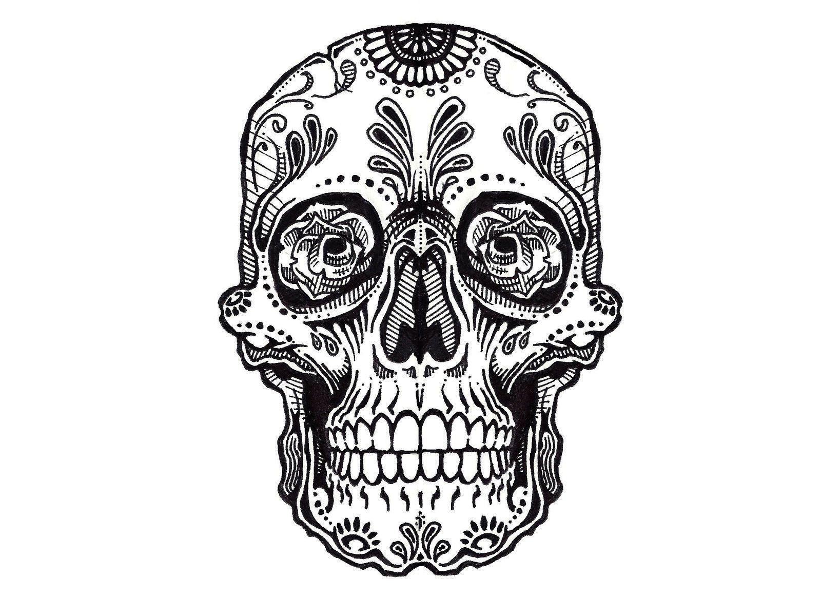 Tattoo Designs Skull Simple Valoblogi Com