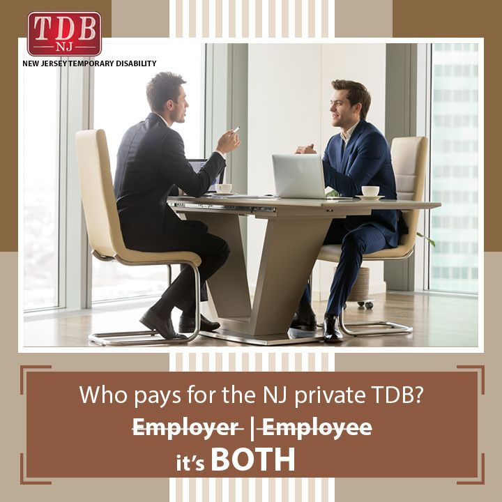 Who Pays For The Nj Private Tdb Is It The Employer Or The