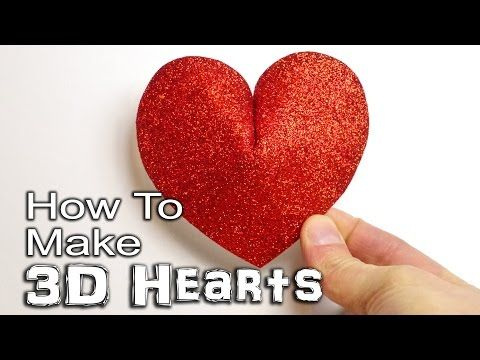 What a Genius Trick to Turn a Basic Paper Heart Into a 3D Heart! So Easy