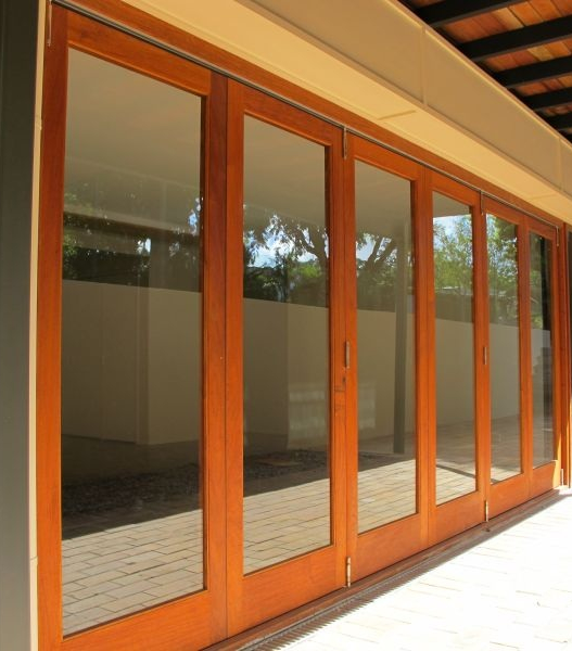 Accordion Folding Doors Interior