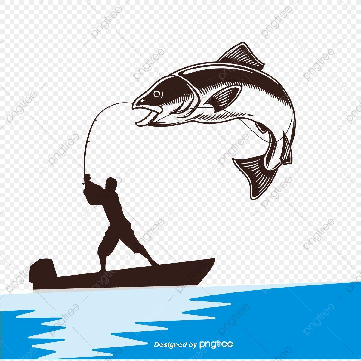 Fishing Industry Fishing Rod Fishing Boat Boat Vector Boat Clipart Fishing Boat Png And Vector With Transparent Backg In 2020 Boat Vector Fish Silhouette Drawn Fish