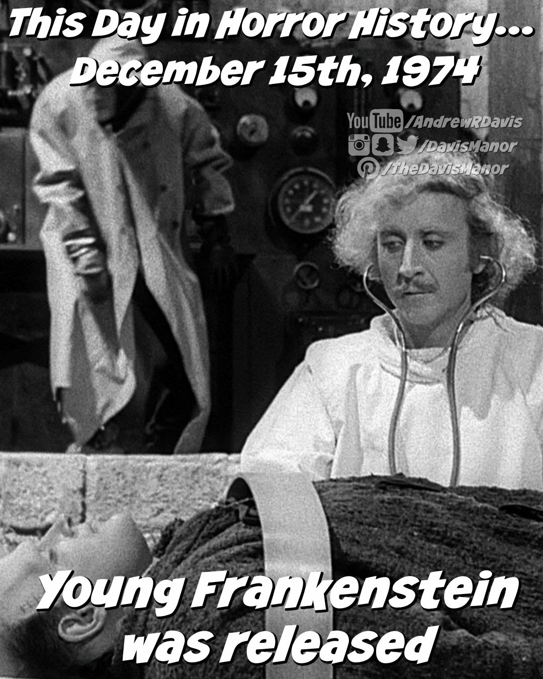 This Day in Horror History... December 15th, 1974 Young