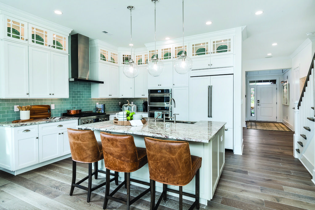 What S Your Go To Meal For Breakfast With A Kitchen Space Like This The Options Are Endless Pictured Above Enclave At O Home Kitchens Home Kitchen Models