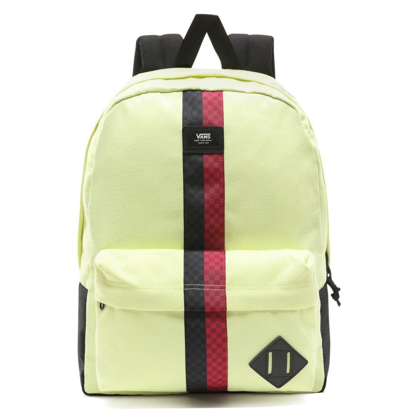 Vans Old Skool II Backpack Sunny Lime | Vans old skool