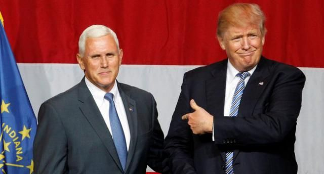 Trump confirms Pence is his VP pick