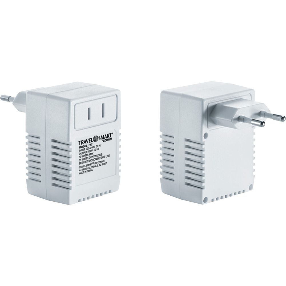 Travel Smart 50 Watt International Transformer White Transformers Cool Things To Buy Electronic Devices