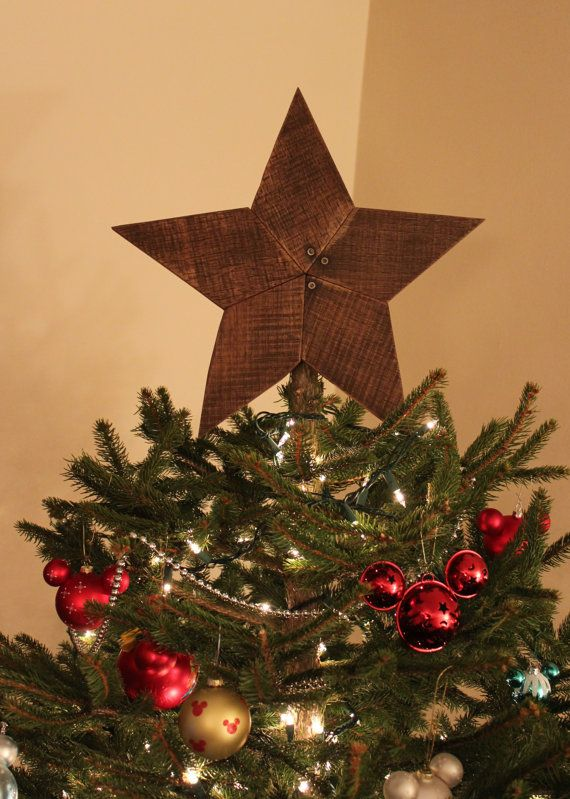 Christmas Tree Star Topper Rustic Reclaimed Wood Star Wooden Star Star Wall Art Christmas Tree Star Topper Christmas Decor Diy Christmas Tree Star