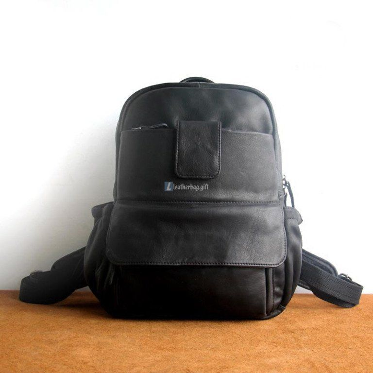 1202 lightweight leather backpack backpacks for college mens ...