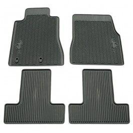 Ford Floor Mat Rubber Black Set 2010 Volkswagen Routan Mustang Accessories Ford Mustang Accessories