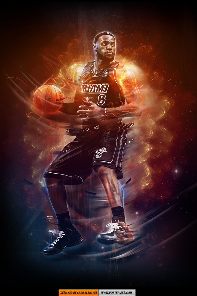 NBA LeBron James Iphone/Ipod Wallpaper NBA WALLPAPERS