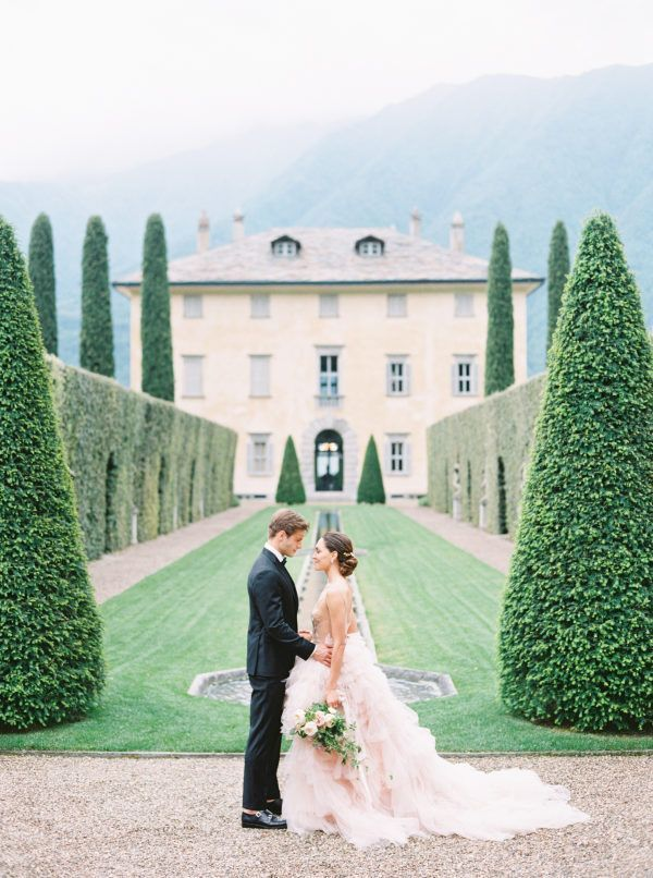 Lake Como Wedding Inspiration at Villa Balbiano
