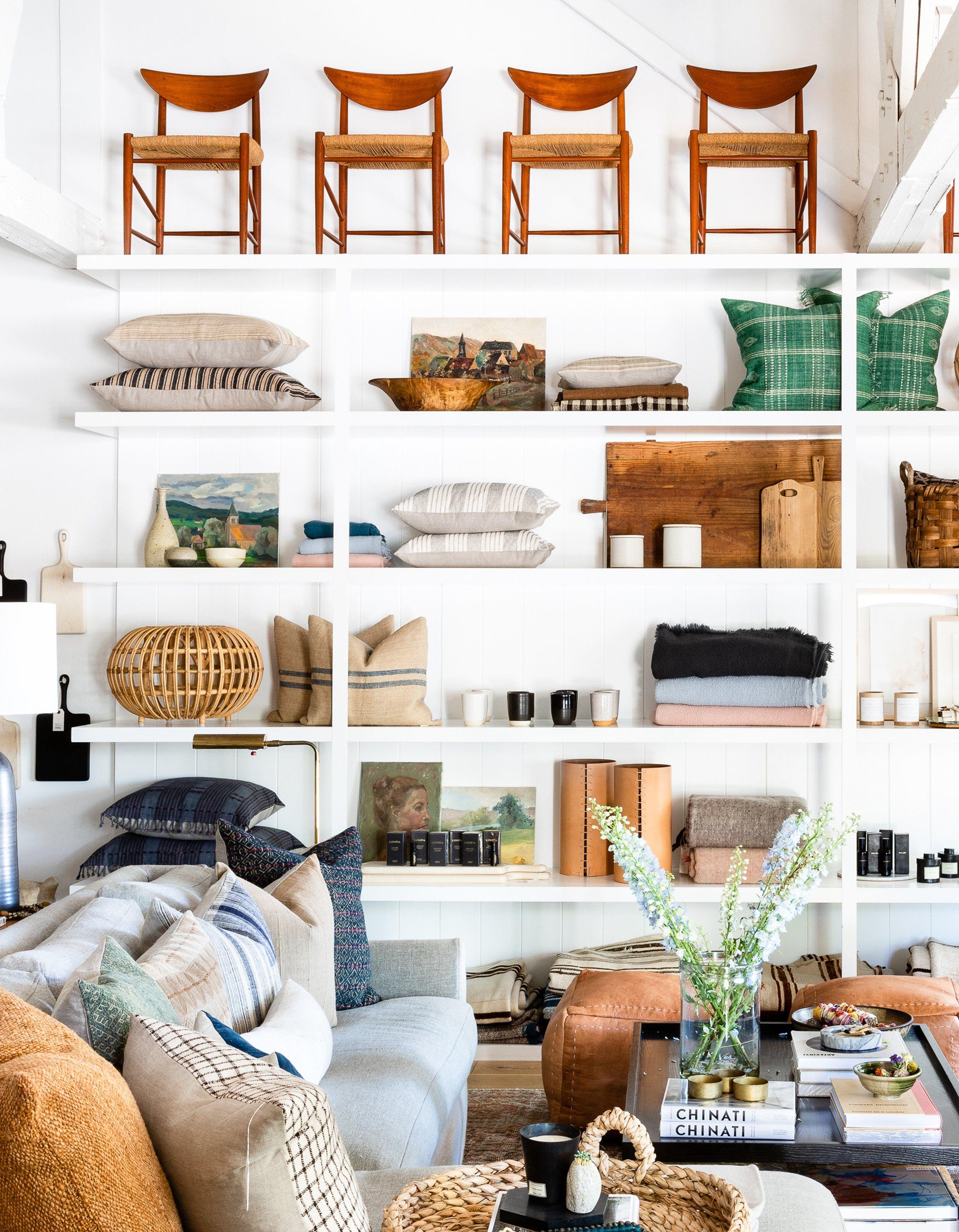 Vestibule Corner Bench | Amber interiors, Home goods store ...