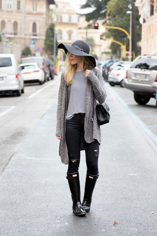 45 cute rainy day outfits to look fabulous even in