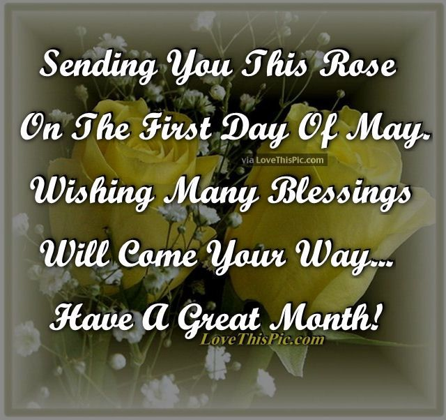 Image result for welcome may have a great month