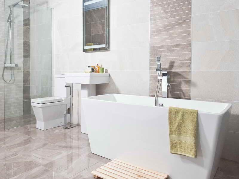 White Tile Shower Ideas  Bathroom Tiles Designs Can Help You Fair Best Tile For Small Bathroom Design Ideas