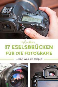 17 Eselsbrücken für die Fotografie - und was sie taugen #backdropsforphotographs