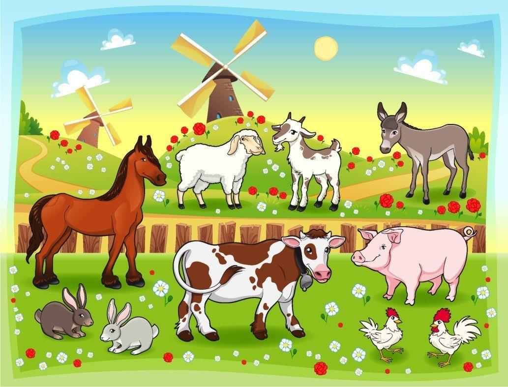 Resultado De Imagen Para Animales De Granja
