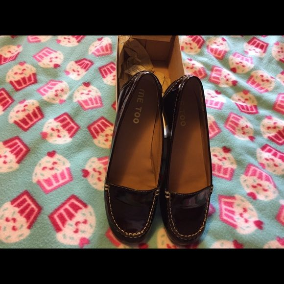 Wine patan leather flat shoes Wine colored flats. Barely worn, really cute on. me too Shoes Flats & Loafers