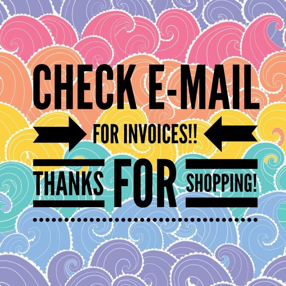 lularoe invoices  u0026 thank you