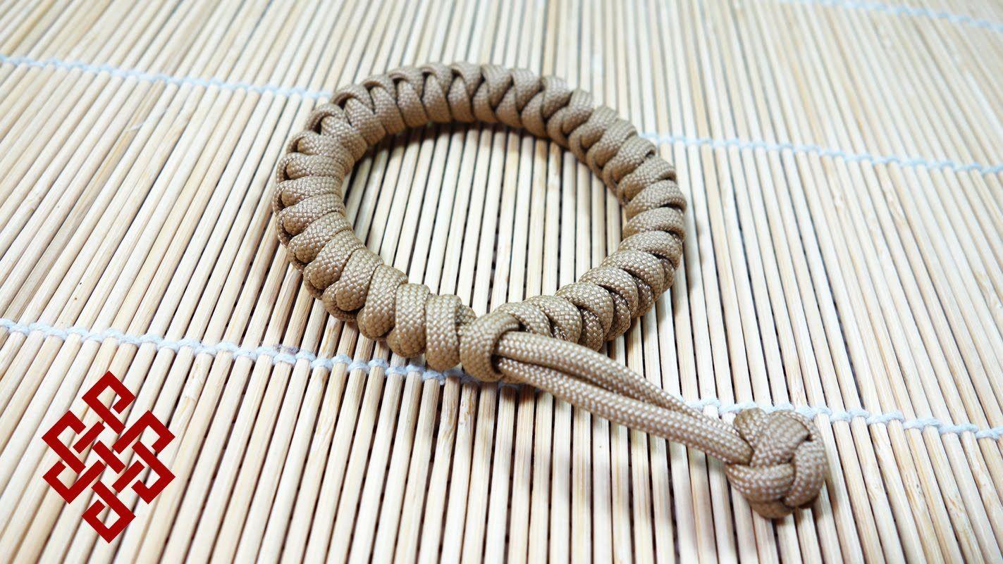 Mad Max Snake Knot Paracord Bracelet Tutorial Paracord Bracelet