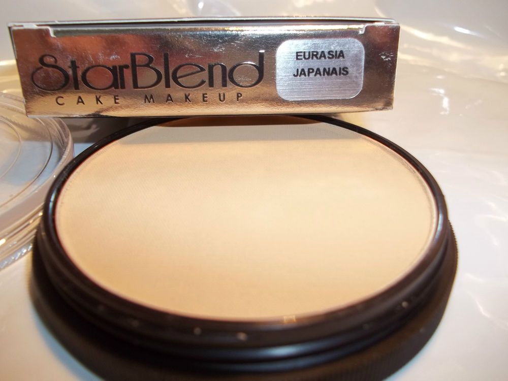 Mehron Star Blend Cake Pancake Water Base Makeup Eurasia Shades Theatrical Usa Ebay Mehron Makeup Makeup Base