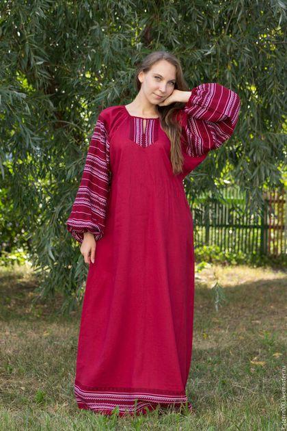 6ec59c98a25a28b Этническая одежда ручной работы. Ярмарка Мастеров - ручная работа. Купить  Платье