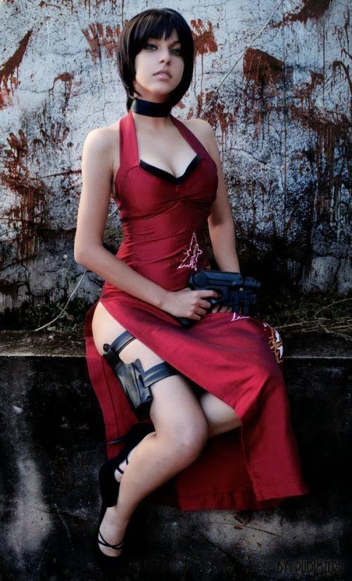 ada wong cosplay sexy