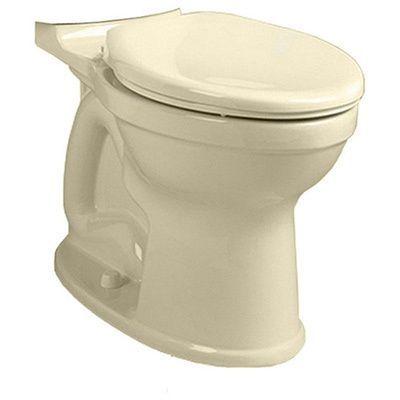 American Standard H2Option Linen Dual Flush Right Height Elongated Bowl