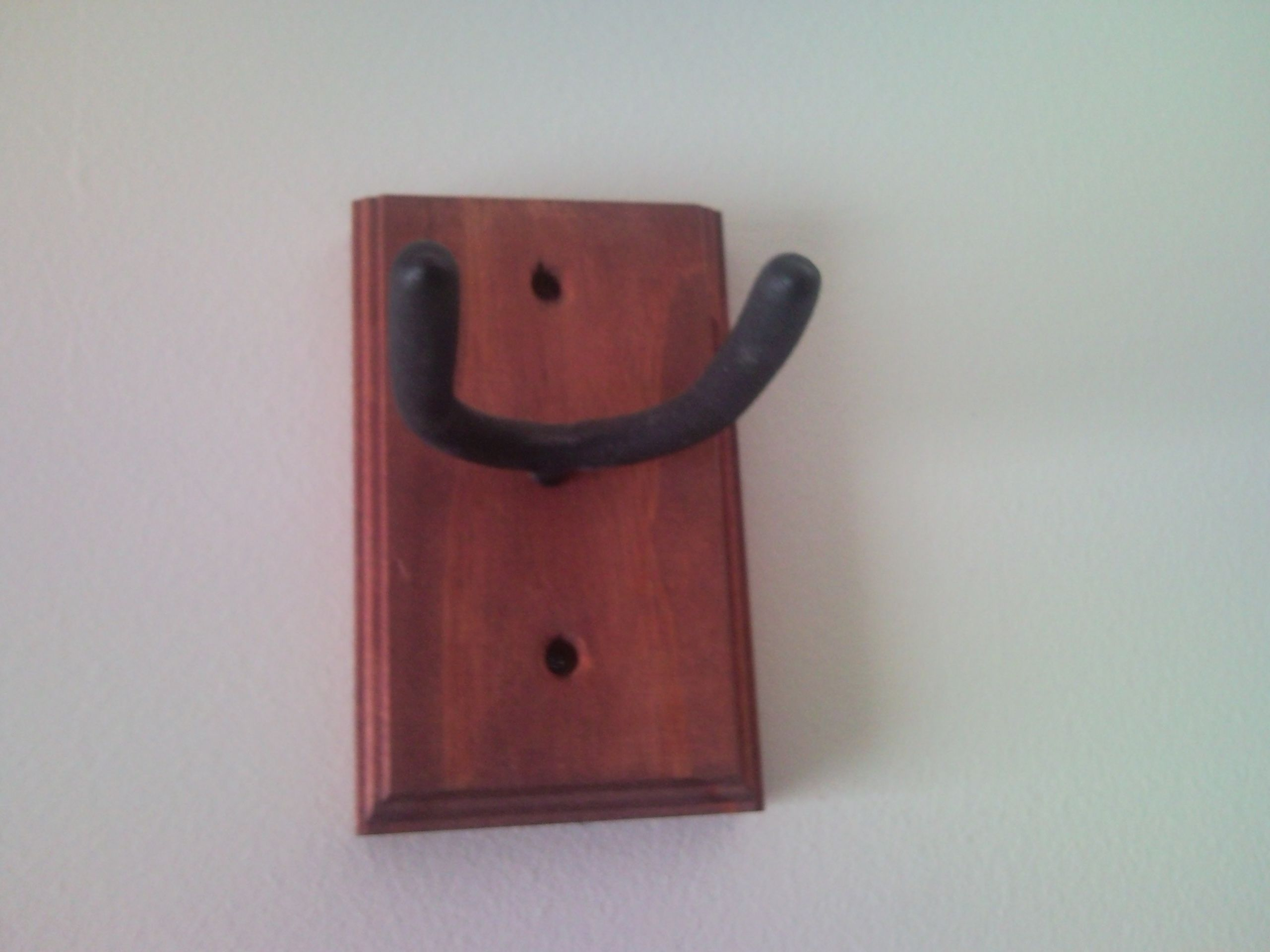 Make Your Own Guitar Wall Mount Guitar Wall Hanger Hang