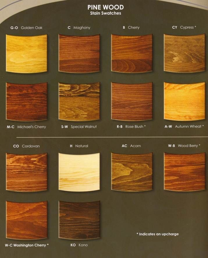 Yellow Pine Stain Chart Yahoo Search Results Yahoo Image