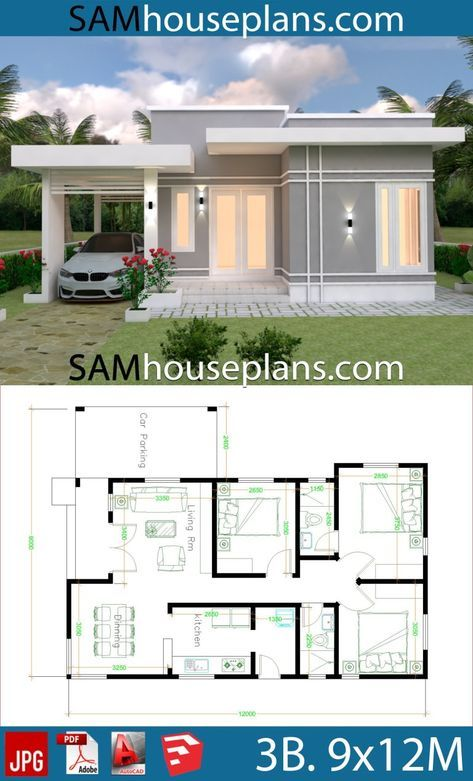 21 Ideas For Small Simple Modern House Design Plantas De Casas Projectos De Casas Fachadas De Casas Terreas