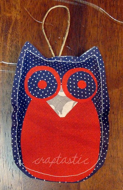 CRAPTASTIC: Owl Ornaments!