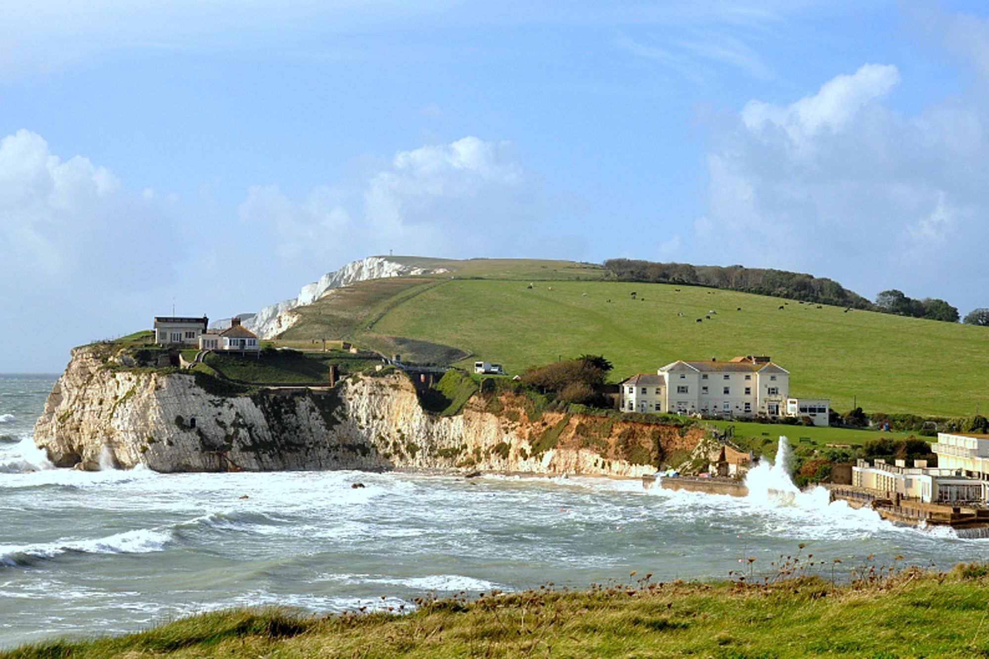 HF Holidays Guided Walking Isle of Wight Freshwater Bay