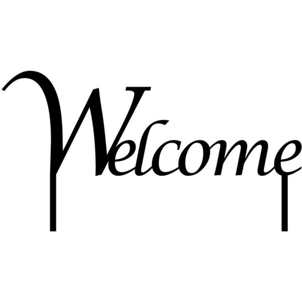 Welcome Lawn Sign Metal Art Metal Sign Sign Outdoor Sign Lawn ...