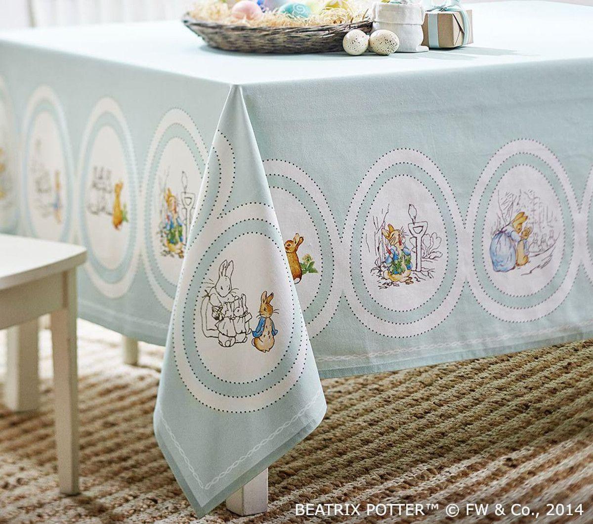 Peter Rabbit Easter Tablecloth Fotos De Mesas