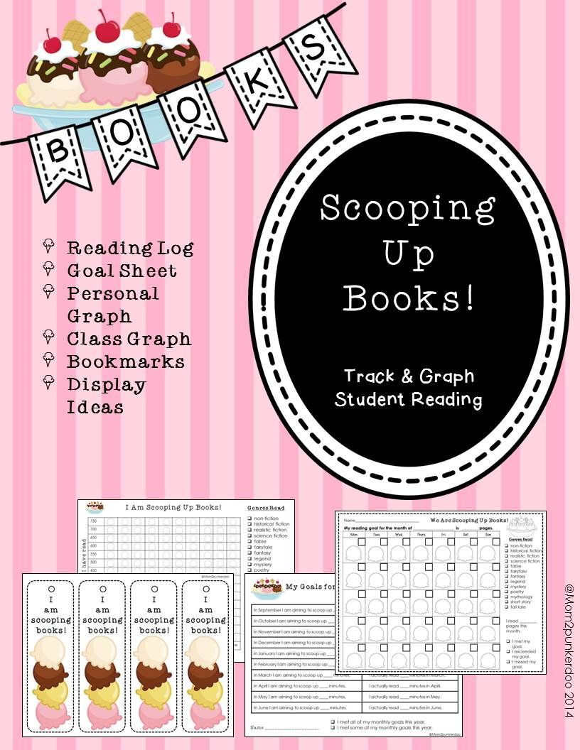 Reading Logs and Data Tracking Graphs (Editable) Reading