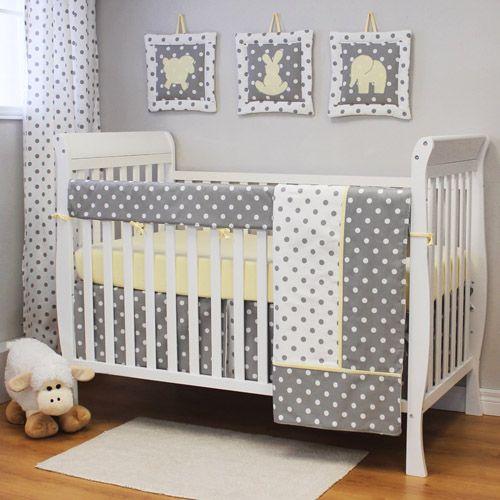 Lemon Grey And White Nursery Google Search Baby Crib
