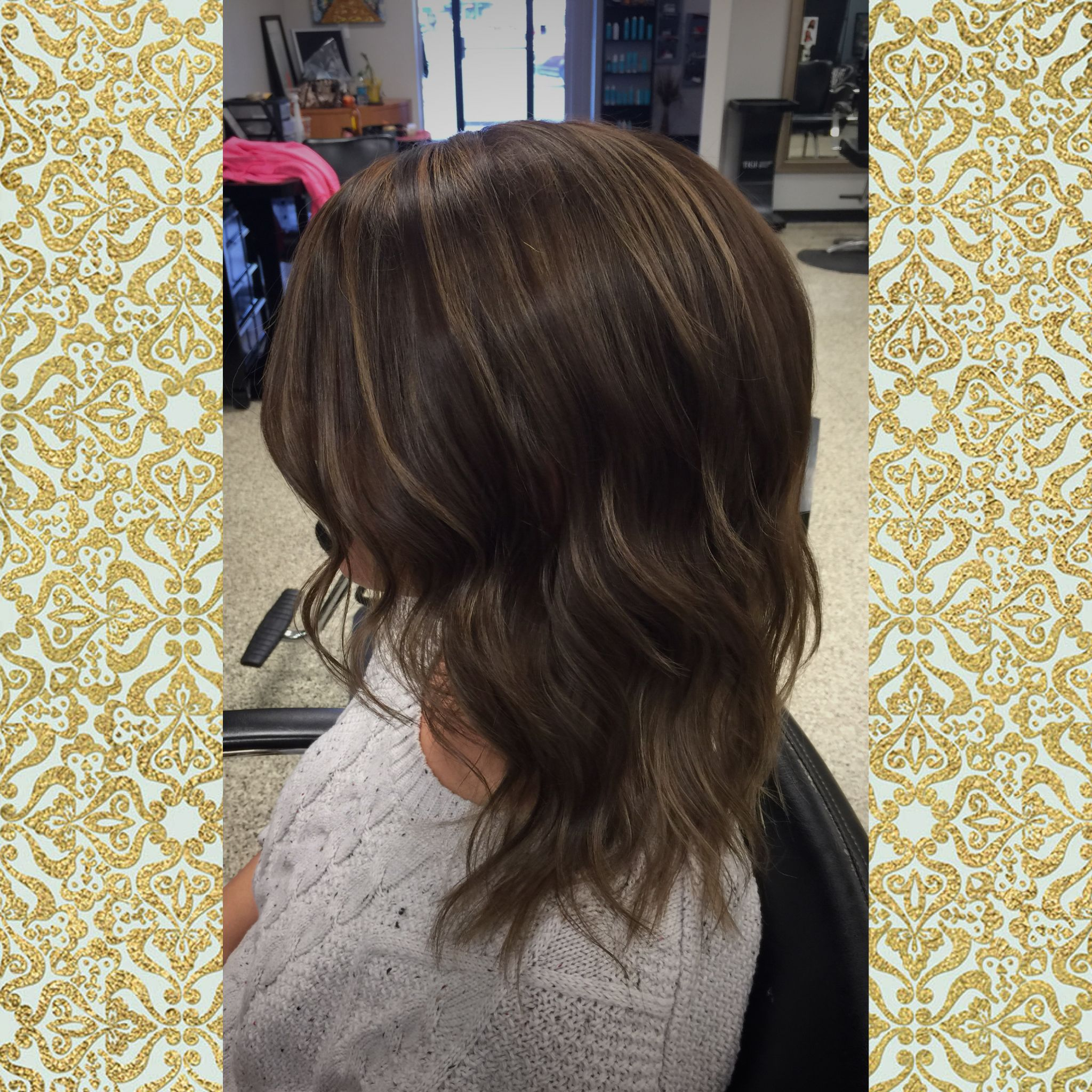 A beautiful beige blonde highlight on a rich and shiny chocolate a beautiful beige blonde highlight on a rich and shiny chocolate brown base gorgeous pmusecretfo Images