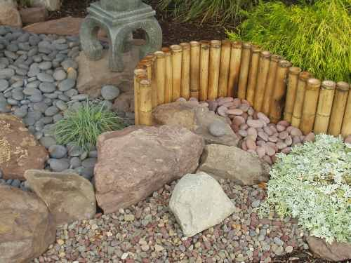 Basalt Rock Columns Decorative Stone Pebbles Mexican