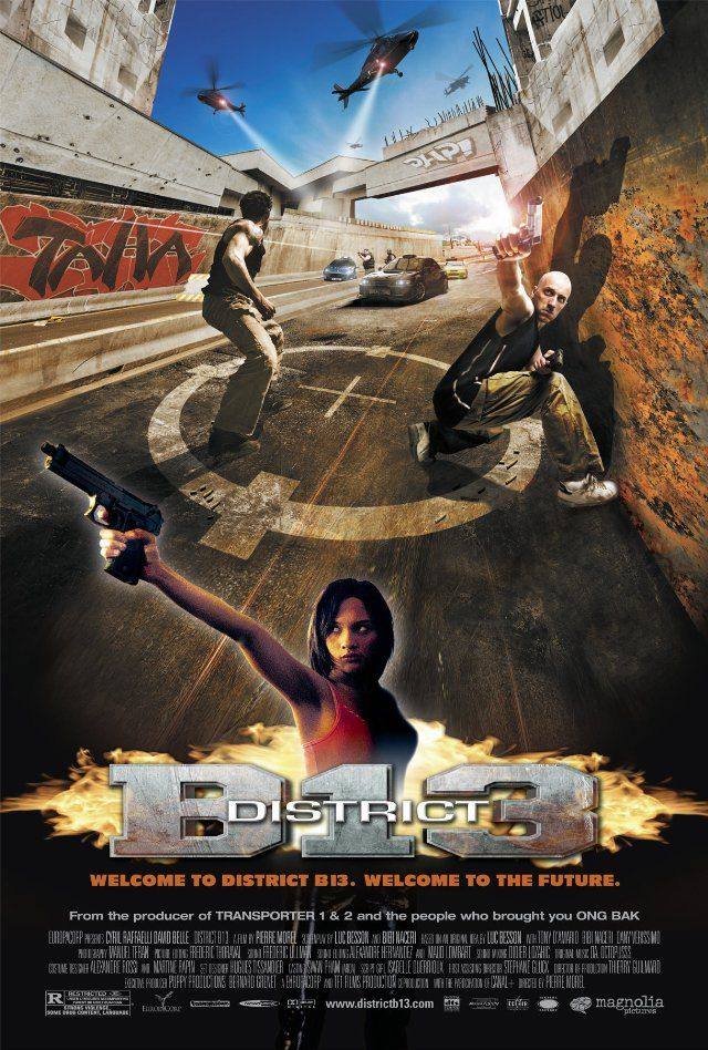 District B13 2004 Banlieue 13 Original Title District 13 Action Movies Movies