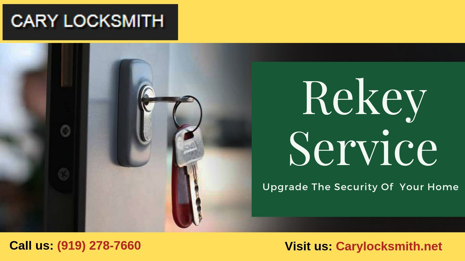 Are you searching for best rekey service our cary