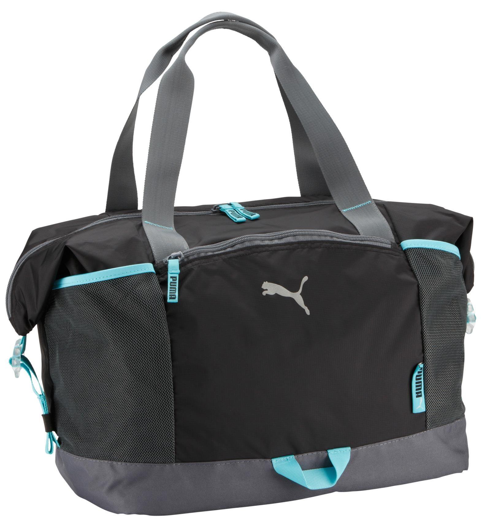 ... Blue and Black Puma Bag Sac Fitness Workout pour femme Puma Bleu et  Noir san francisco ... 67095bac550ee