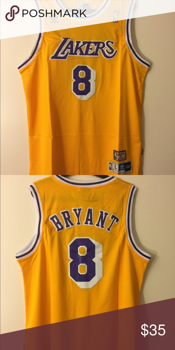 2a5e3648420 Kobe Bryant #8 lakers HWC Jersey Brand new with tag, all letters and  numbers are stitched Price is firm, thank you adidas Shirts Tank Tops