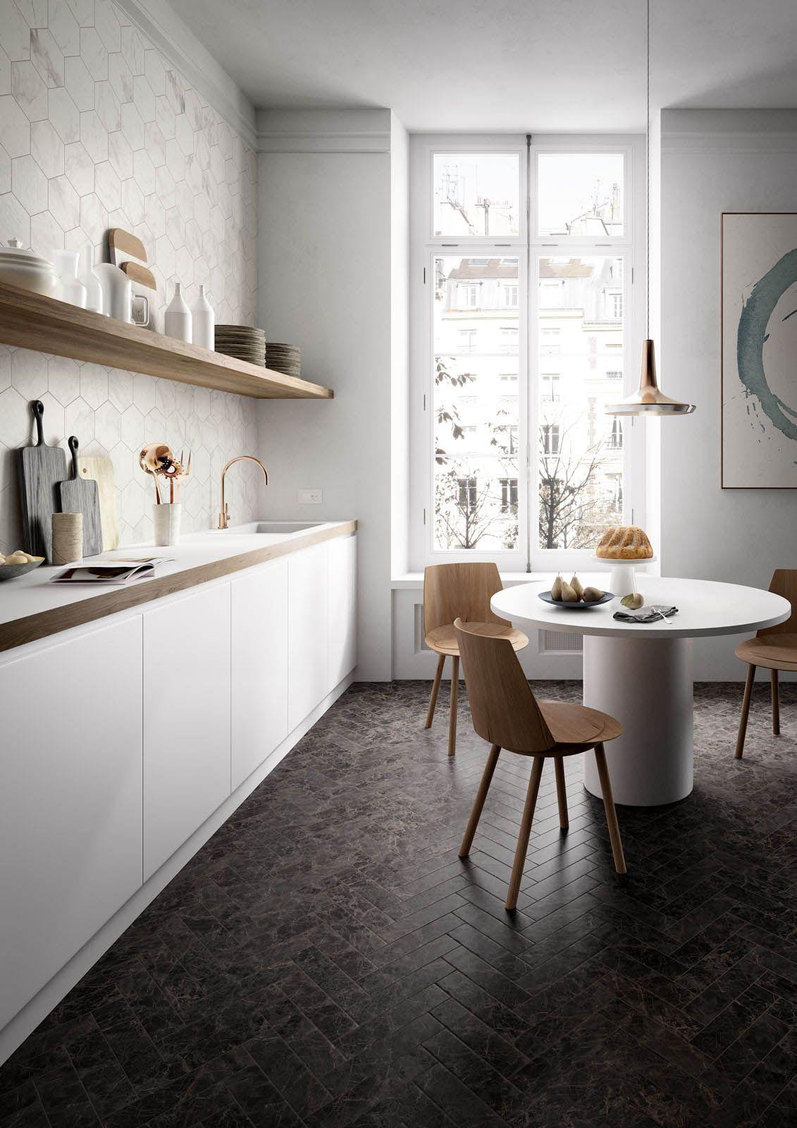 Allmarble - Marble effect stoneware | Marazzi | Kjøkkenfliser ...