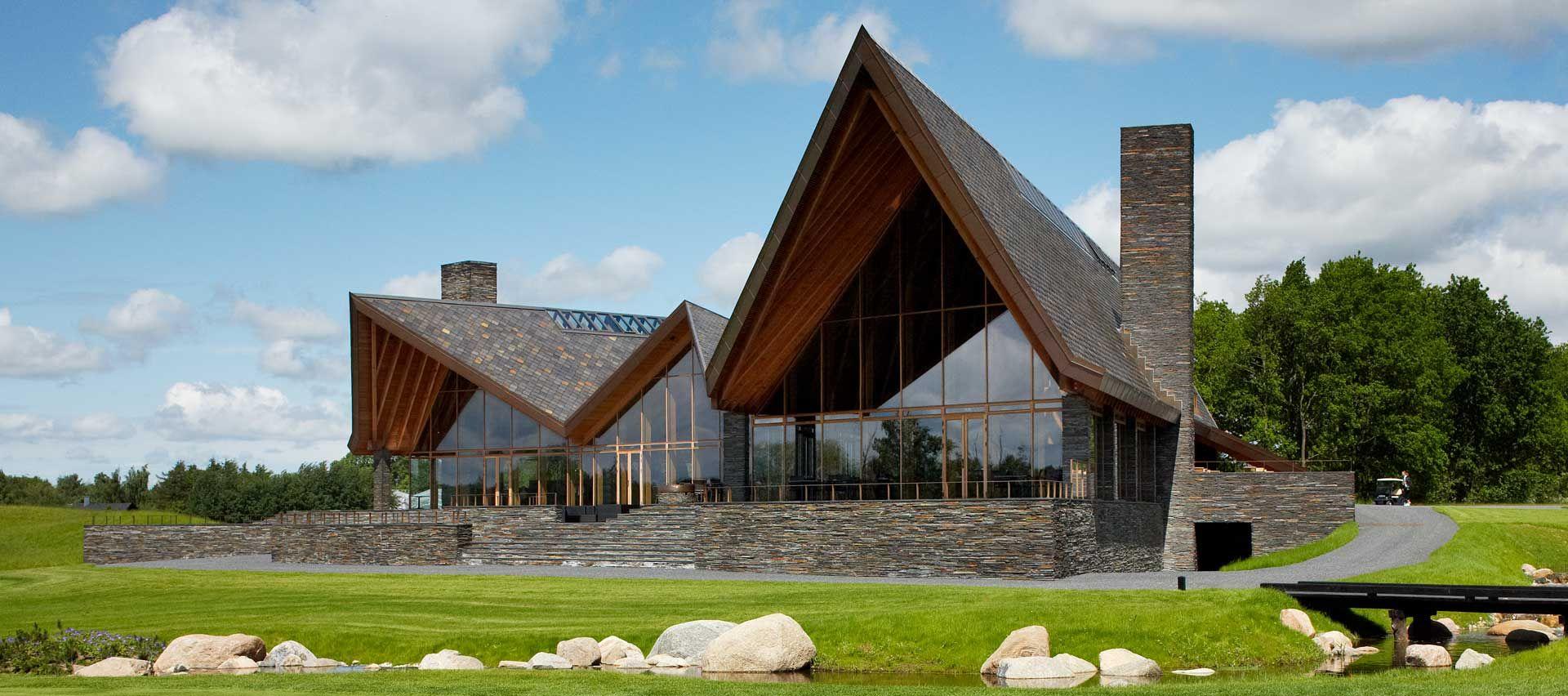Modern Scandinavian Architecture Scandinavian Architecture Golf Clubs Architecture