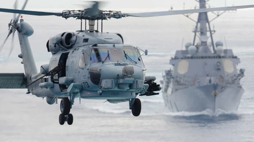 digital datalinks communications MH60R helicopter