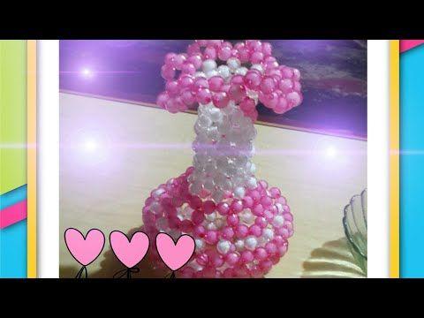How To Make Flower Vase Youtube Perlas Pinterest Flower