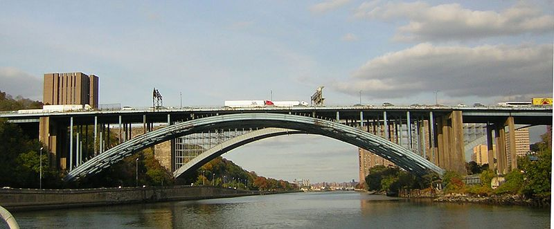 The Alexander Hamilton Bridge Carries Eight Lanes Of Traffic Over