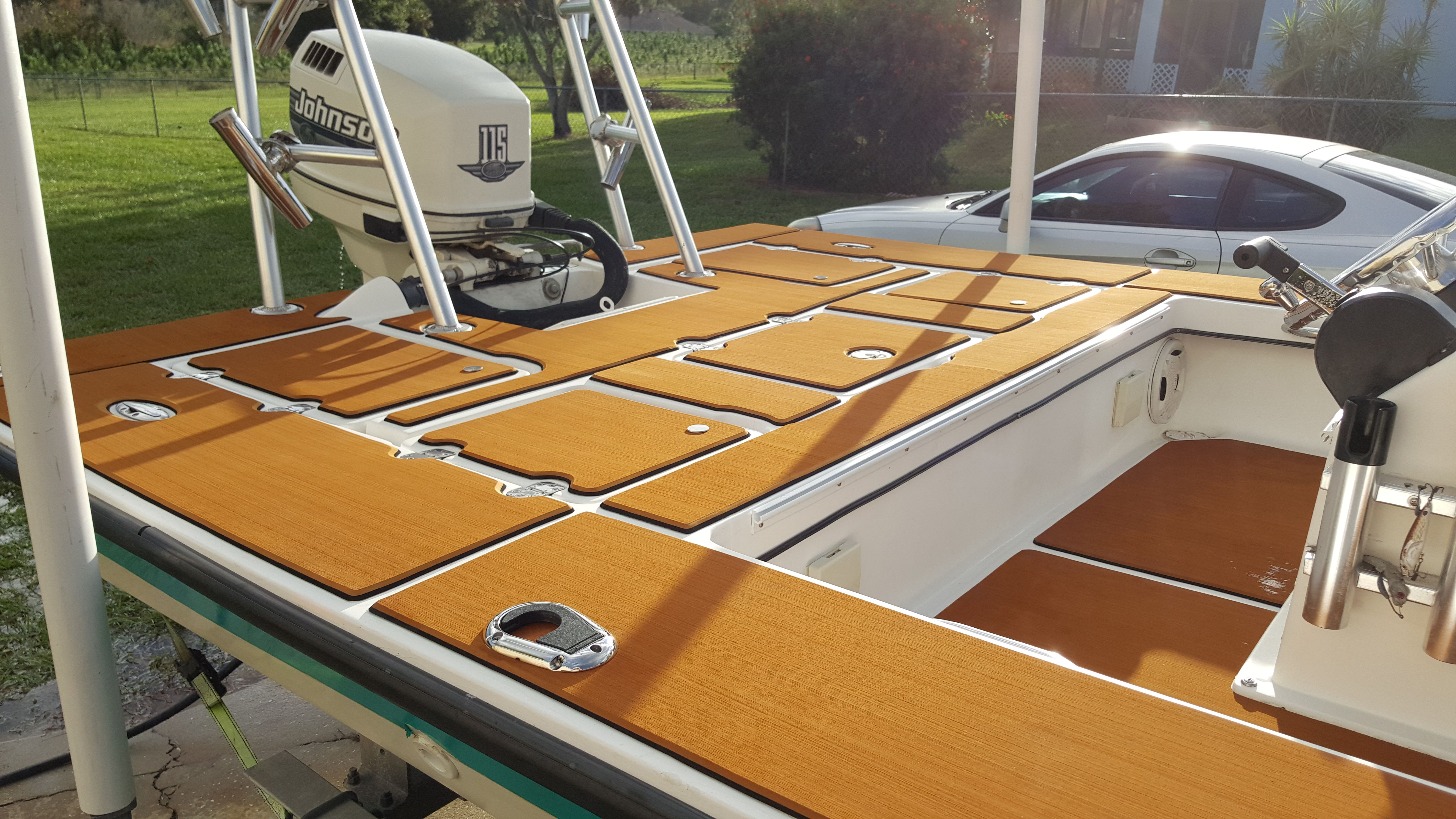 A Testimonial For Our Boat Deck Mat From Fl Usa Marine Flooring